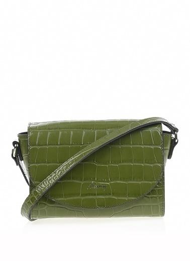 Matraş Hakiki Deri Çanta Yeşil